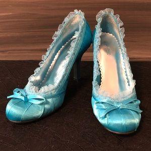 Turquoise Pulse Heel 8.5